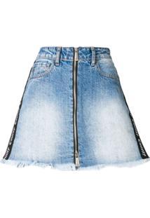 2f523d5e51 Saia Azul Marinho Jeans feminina
