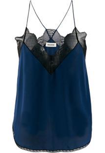 Zadig&Voltaire Blusa Christy - Azul