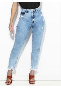 Calça Jeans Bruna Azul Claro