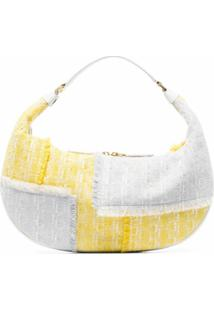 Staud Bolsa Tiracolo Sasha De Tweed - Amarelo