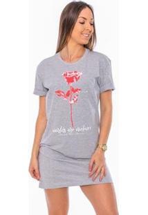 e5856bc3d Vestido Cinza Vermelho feminino | Starving