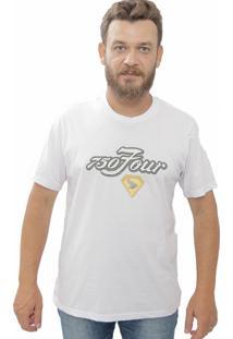 Camiseta Cheiro De Gasolina 750 Four Branca