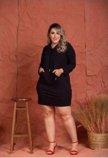 Vestido Fernanda Black Plus Size