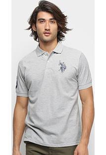 Camisa Polo U.S. Polo Assn Lisa Big Poney Masculina - Masculino