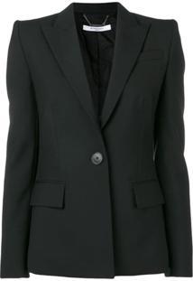 Givenchy Blazer Com Abotoamento Simples - Preto