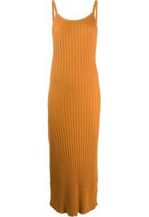Simon Miller Ribbed Tank Dress - Laranja
