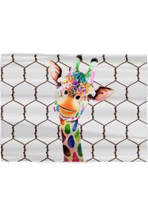 Jogo Americano Girafa Divertida (4 Peças) 45 X 33 Cm Vickttoria Vick Plus Size