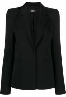 Karl Lagerfeld Blazer Karl X Carine - Preto