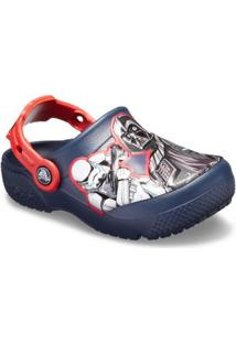 Crocs Infantil Funlab Sw Dark Side Clog Kids Masculino - Masculino-Azul
