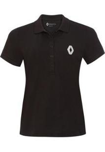 Camisa Polo Logo Renault Feminina - Feminino