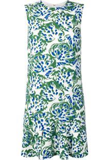 Victoria Victoria Beckham Vestido Reto - Verde