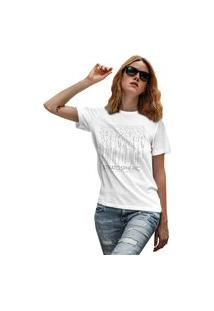 Camiseta Feminina Mirat Stratospheric Branco