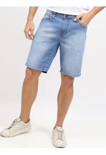 Bermuda Jeans Estonada- Azul Claro- Colccicolcci