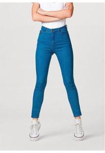 Calça Jeans Super Skinny Com Elastano Hering Feminina - Feminino
