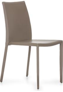 Cadeira De Jantar Glam Fendi Or Design Bege