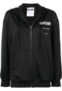 Moschino Couture Hoodie Jacket - Preto