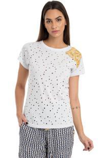 T-Shirt Malha Perfurate