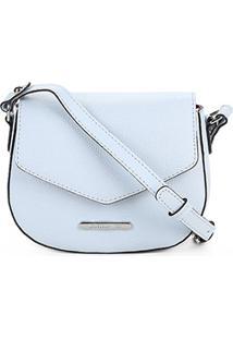Bolsa Loucos E Santos Mini Bag Matelassê Feminina - Feminino-Azul