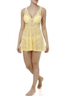Camisola Feminina - Feminino-Amarelo