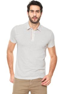 Camisa Polo Forum Comfort Off-White
