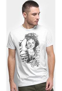 Camiseta Rukes Tattoo Girl Masculina - Masculino
