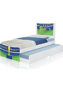 Cama Bicama Juvenil Adesivada Copa Do Mundo Brasil Casah - Multicolorido - Menino - Dafiti