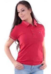 Camisa Polo Cp0721 Regular Traymon Vermelha
