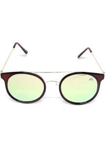 Óculos Cayo Blanco De Sol Redondo Fashion Feminino - Feminino