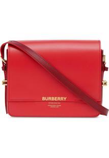 Burberry Bolsa Transversal Grace Pequena - Vermelho