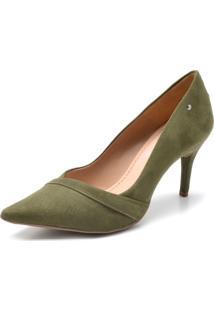 Scarpin Dafiti Shoes Recorte Verde