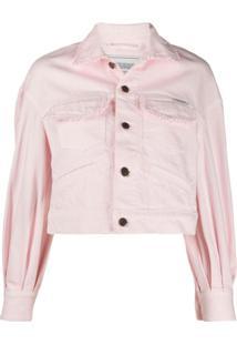 Forte Dei Marmi Couture Jaqueta Cropped - Rosa