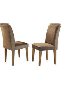 Cadeira Athenas Animale Chocolate Imbuia