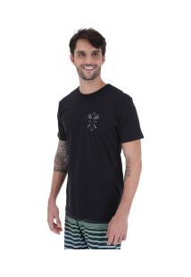 Camiseta Rusty Dwart Sb - Masculina - Preto