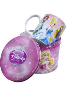 Caneca Minas De Presentes Princesas Rosa