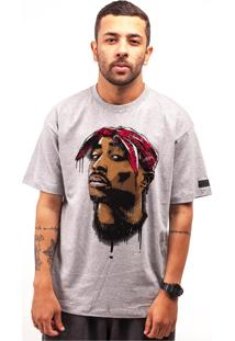Camiseta Wanted Custom West Coast Mescla