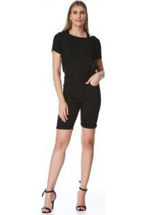 Bermuda Jeans Zait Pedal Morena - Feminino