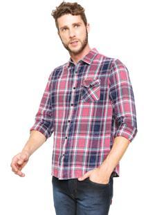 Camisa Dixie Reta Rosa