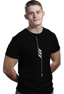 Camiseta Hunter Pena Preta