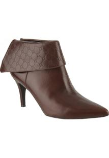 Bota Ankle Boot 61241 - Saara Marrone