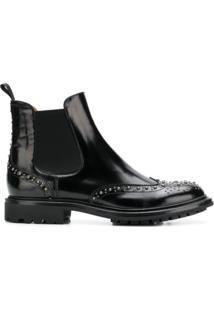 Church'S Ankle Boot 'Aura 2' De Couro - Preto