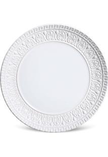 Jogo De Pratos Sobremesa 6 Pã§S Greek Branco Porto Brasil - Branco - Dafiti
