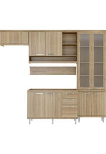Cozinha Compacta Lanús 9 Pt 3 Gv Argila