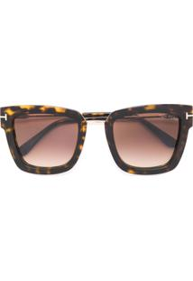 3439c4631 R$ 4072,00. Farfetch Tom Ford Eyewear Óculos De Sol Quadrado ...