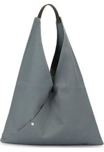 Cabas Bolsa Tote Triangle Grande - Azul