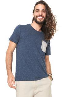 Camiseta Redley Botone Azul