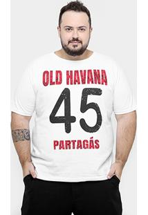 Camiseta Eagle Brasil Plus Size Havana 45 Masculina - Masculino