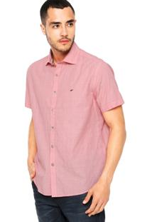 Camisa Ellus Derby Spread Rosa