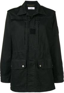 Saint Laurent Parka - Preto