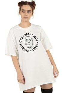 Camiseta Skull Clothing Eminem Slim Shady Feminina - Feminino