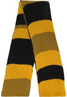 Marni Cachecol Listrado - Amarelo
